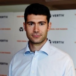 Photo Andrea Ferro, AC Power director for Vertiv in Europe, Middle East and Africa