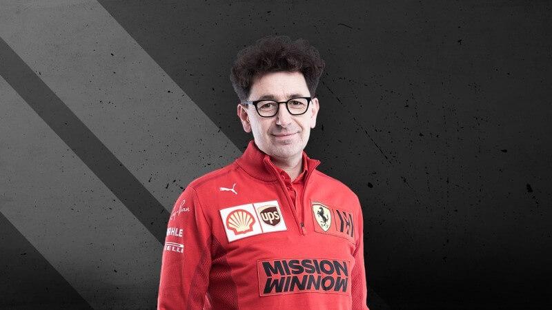 Photo Mattia Binotto, Principal of Scuderia Ferrari