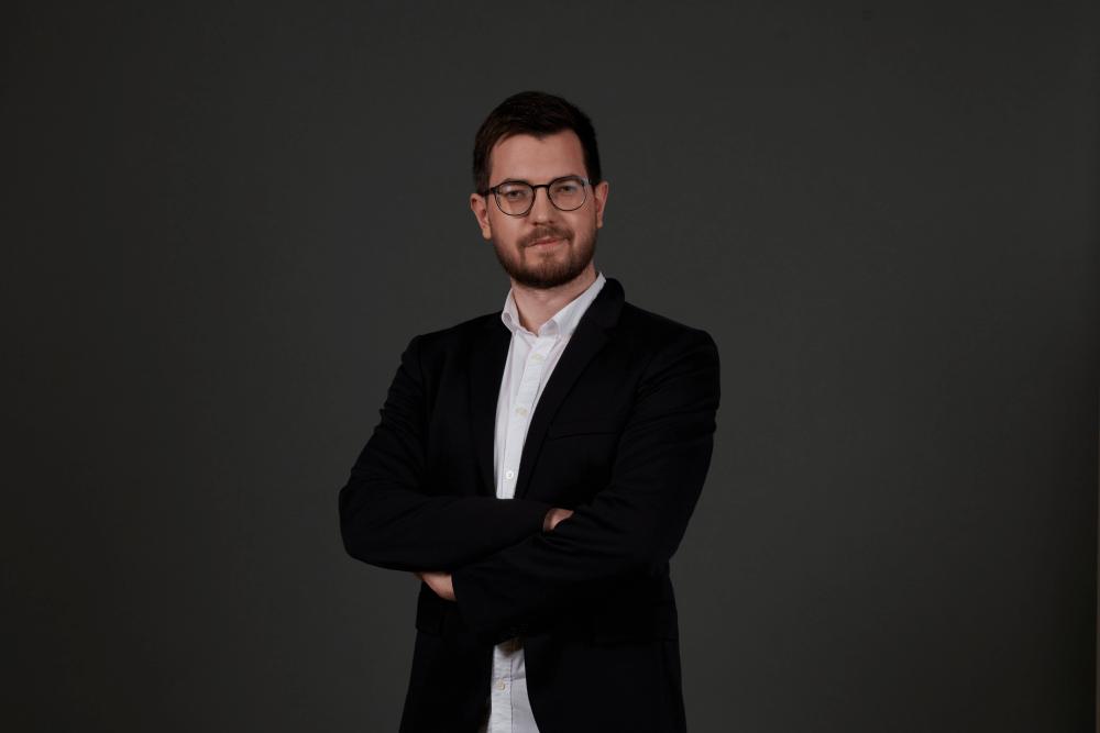 Photo Alex Federighi, deputy head of G-Core Labs' department of cloud platforms
