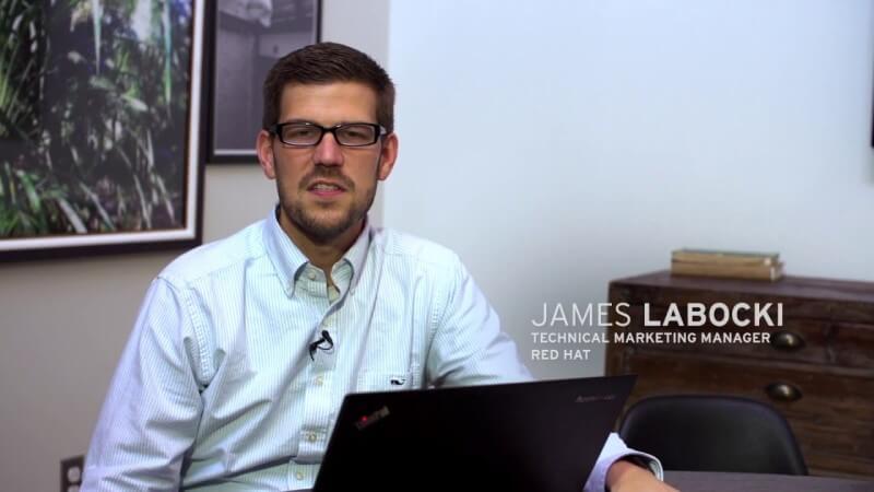 Photo James Labocki, senior director of product management, Red Hat