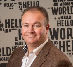 Photo Peter van Burgel, Chief Executive Officer (CEO) at AMS-IX