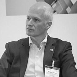 Photo Fergus Innes, Senior Vice President at Crosslake Fibre