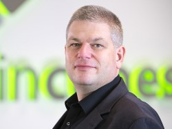 Photo Oliver Menzel, Chief Executive Officer (CEO) of maincubes