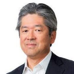 Photo Masaaki Moribayashi, President and Board Director for NTT
