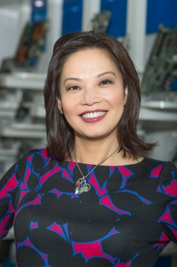 Photo Caroline Chan, VP Intel Corporation, GM of Network Business Incubator Division
