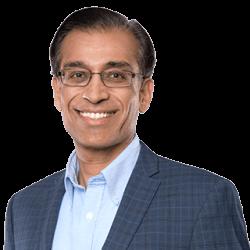 Photo Yogesh Gupta, CEO of Progress