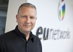 Photo Brady Rafuse, CEO of euNetworks