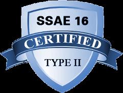 SSAE16 SOC2 Certified